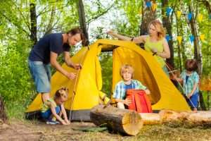 camping pour familles